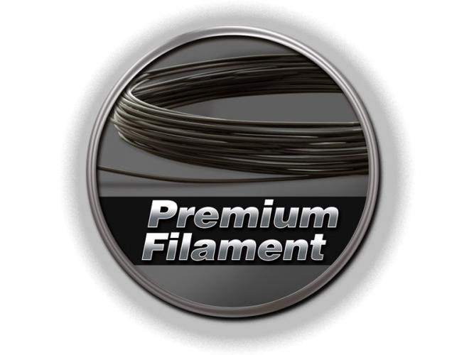 Premium Filament schwarz 50g-Ring